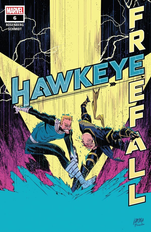 Hawkeye: Freefall #6 review