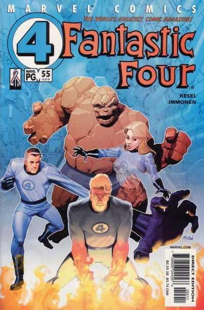 Fantastic Four #55