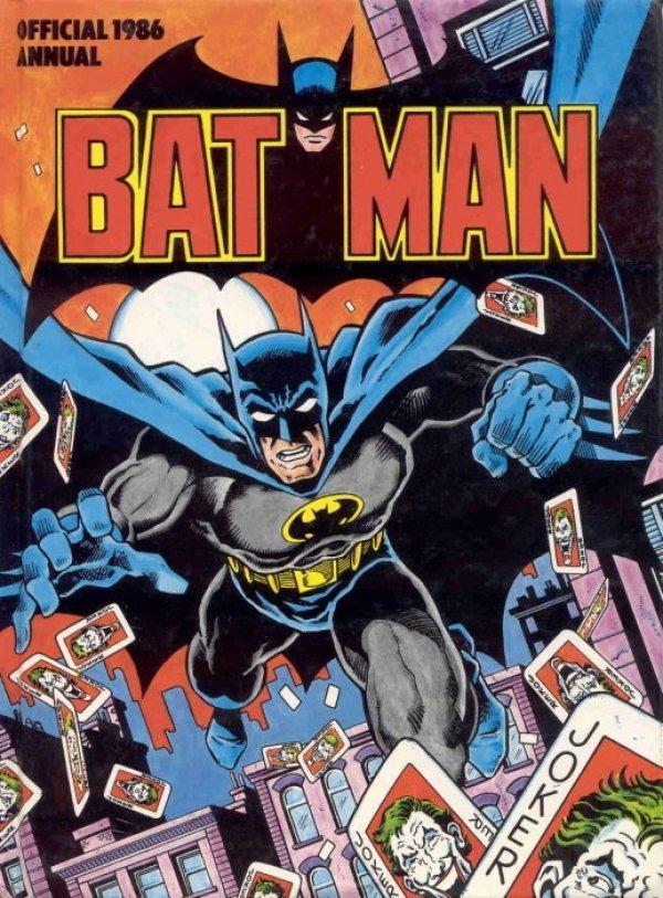 Batman Official Annual 1986