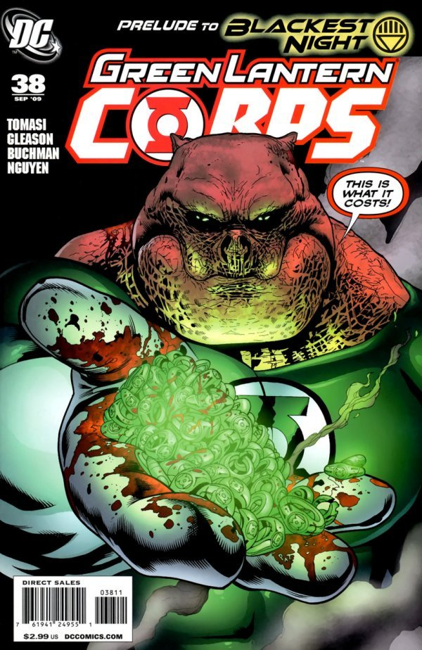 Green Lantern Corps #38