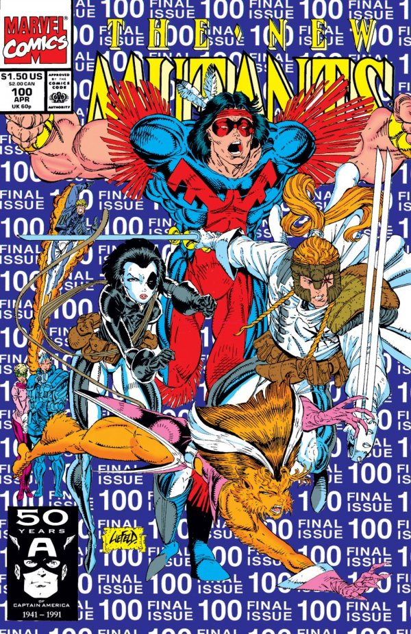 The New Mutants #100