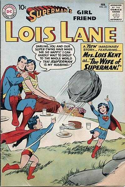 Superman's Girl Friend, Lois Lane #23