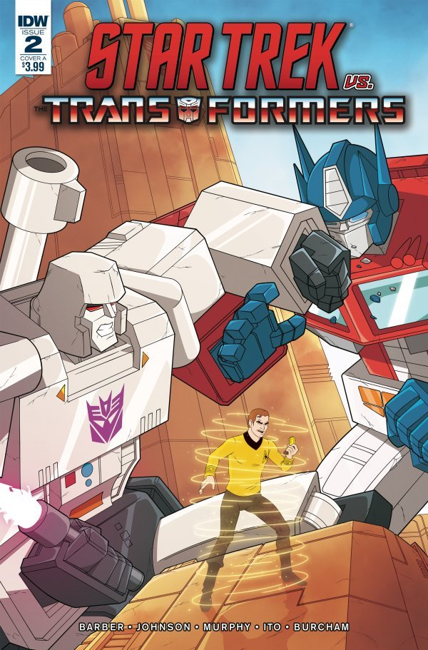 Star Trek vs. Transformers #2