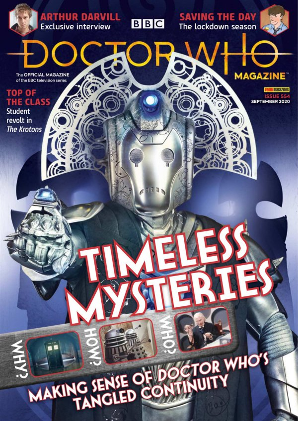 Doctor Who Magazine #554