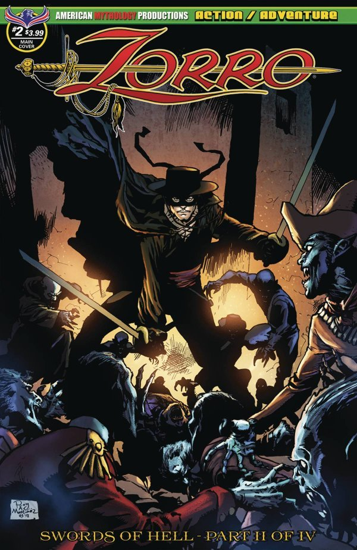 Zorro: Swords Of Hell #4