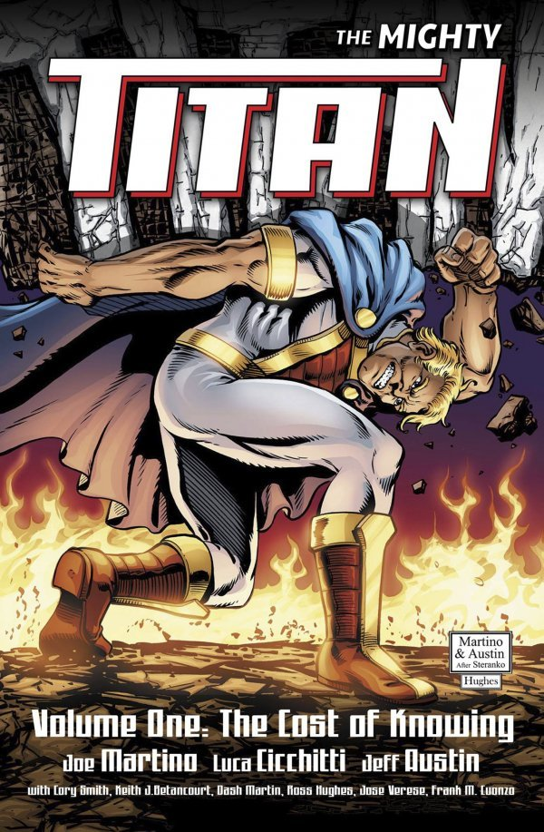 The Mighty Titan Vol. 1: The Cost of Knowing TP