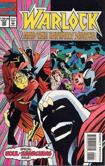Warlock and the Infinity Watch #32