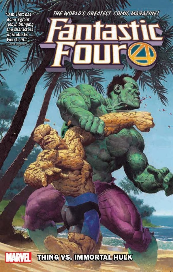 Fantastic Four Vol. 4: The Thing vs The Immortal Hulk TP