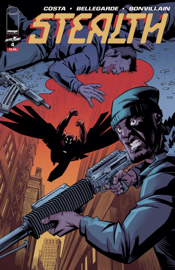 Stealth #4 review
