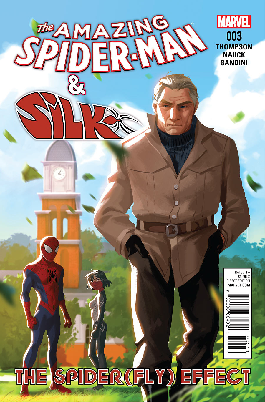 The Amazing Spider-Man and Silk: The Spider(fly) Effect #3