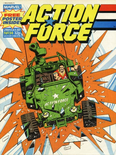 Action Force #34