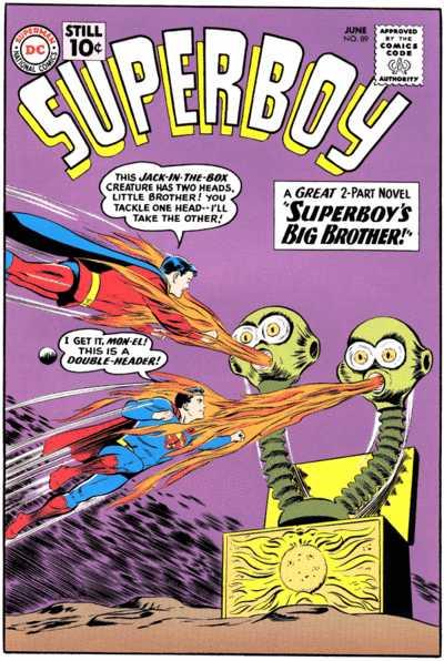 Superboy #89