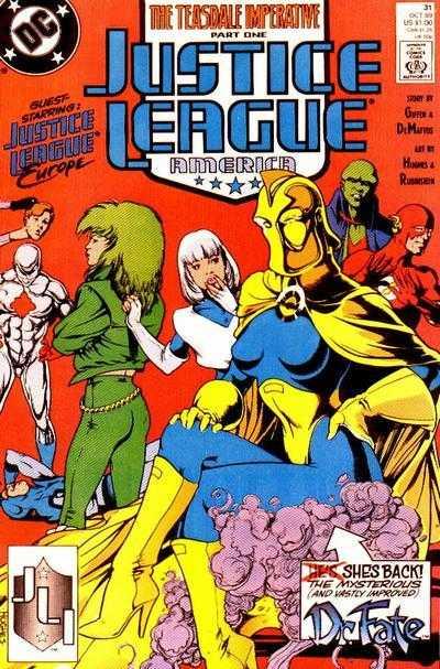Justice League America #31