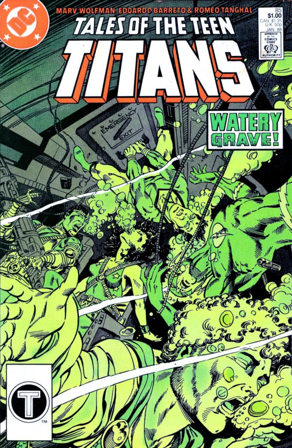 Tales of the Teen Titans #85