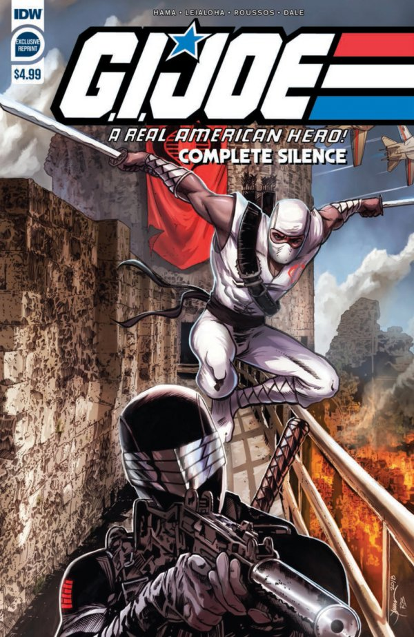 G.I. Joe: A Real American Hero - Complete Silence #1