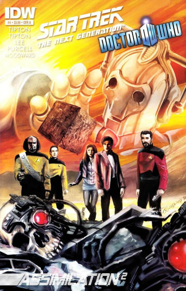 Star Trek: The Next Generation / Doctor Who - Assimilation2 #4