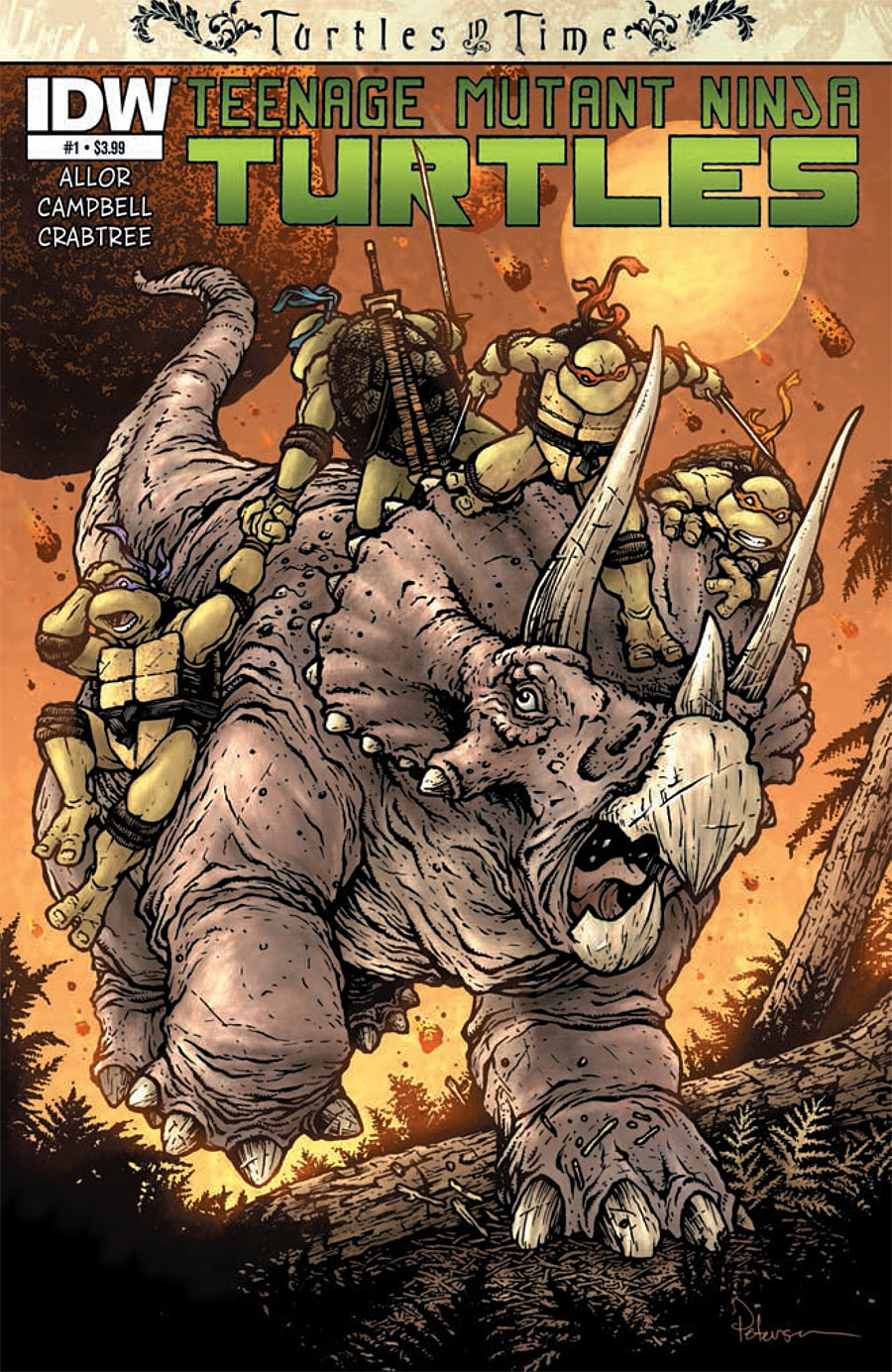 Teenage Mutant Ninja Turtles: Turtles in Time #1