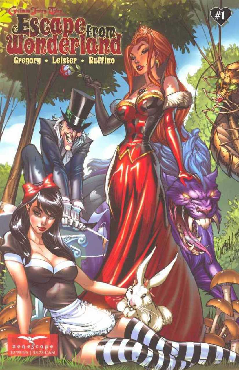 Grimm Fairy Tales Presents Escape from Wonderland #1