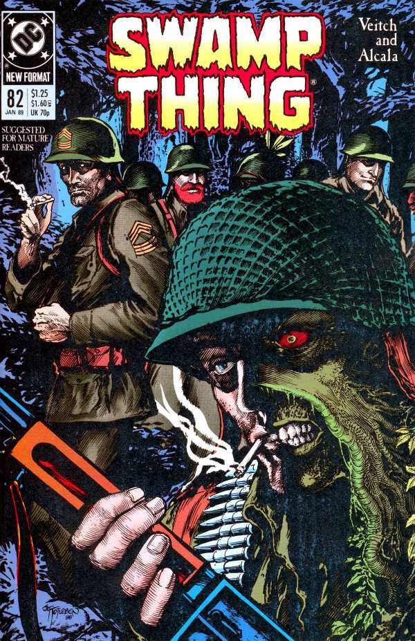 The Saga of the Swamp Thing #82