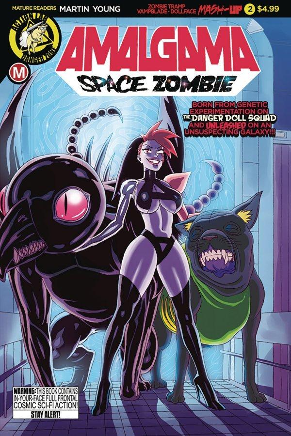 Amalgama Space Zombie #2 review