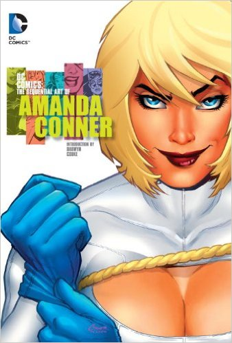 DC Comics the Sequential The Art of Amanda Conner HC
