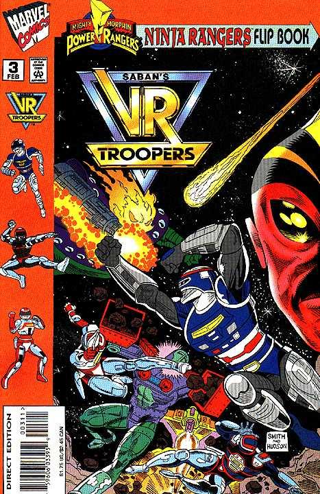 Mighty Morphin Power Rangers: Ninja Rangers / VR Troopers #3