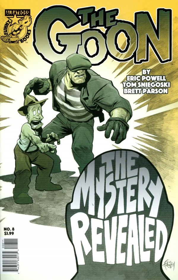 The Goon #8 review