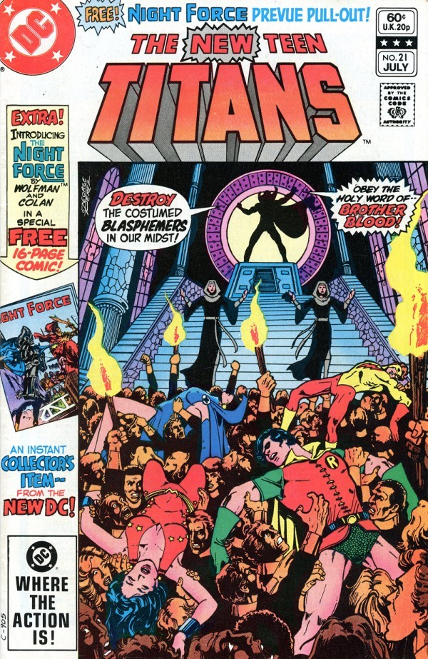 The New Teen Titans #21