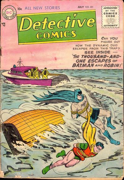 Detective Comics #221