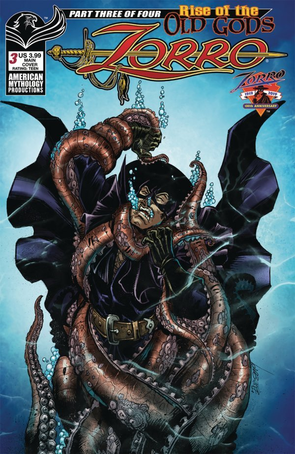Zorro: Rise of the Old Gods #3