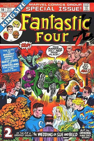 Fantastic Four Annual #10