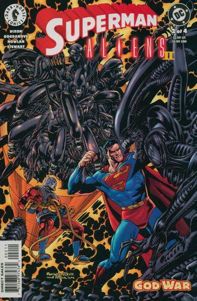 Superman Aliens II #2