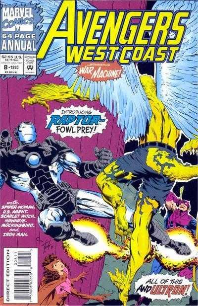 Avengers West Coast Annual #8