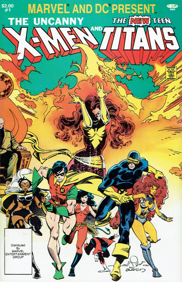 Marvel and DC Present: The Uncanny X-Men and The New Teen Titans #1