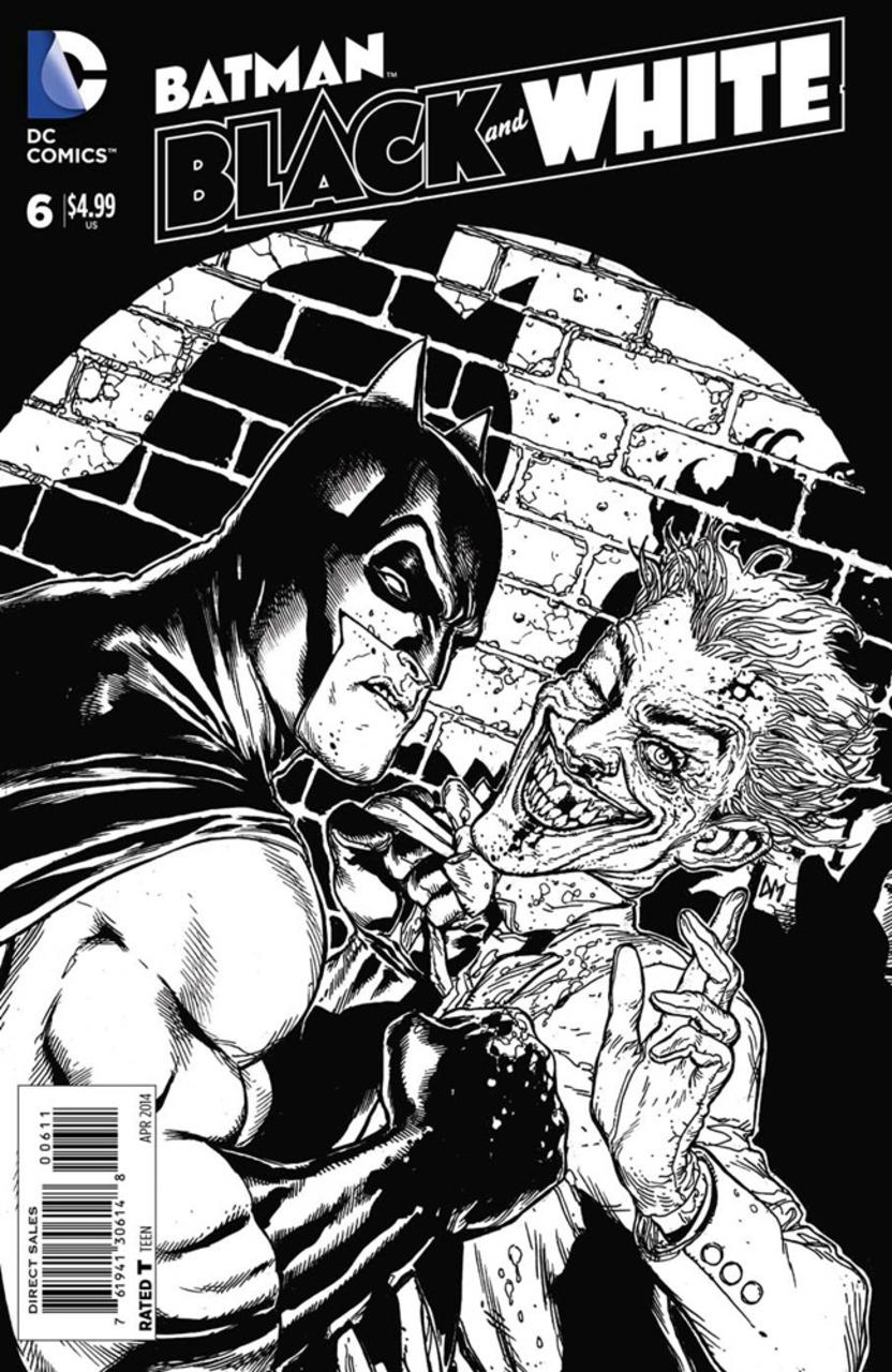 Batman: Black and White #6