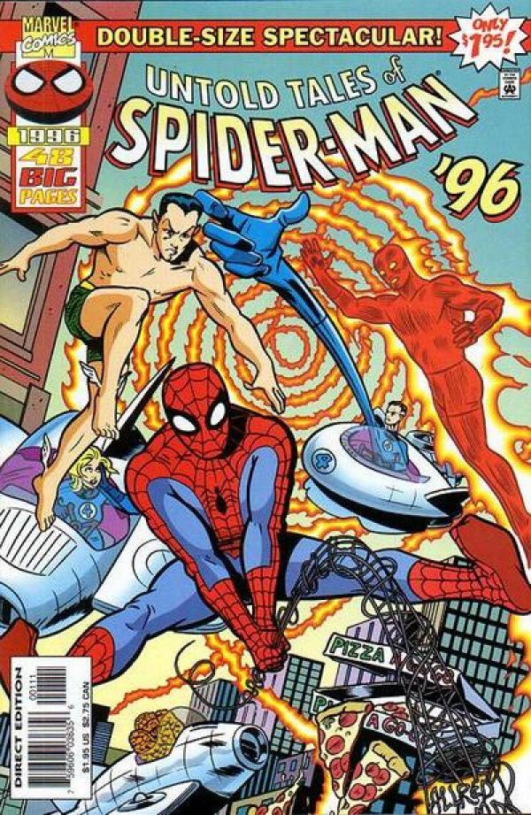 Untold Tales of Spider-Man Annual '96
