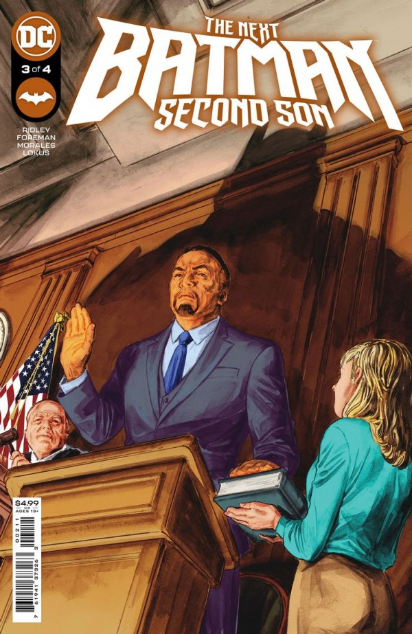 The Next Batman: Second Son #3
