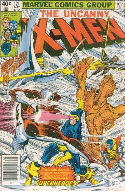 The X-Men #121
