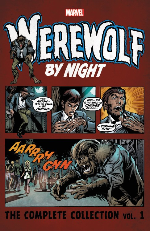 Werewolf by Night: The Complete Collection Vol. 1 TP
