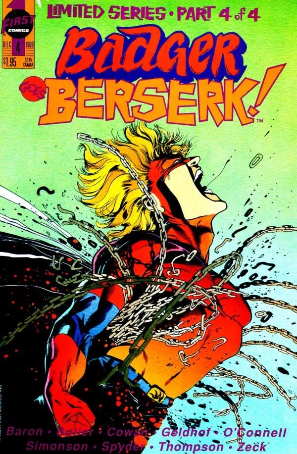 Badger Goes Berserk! #4