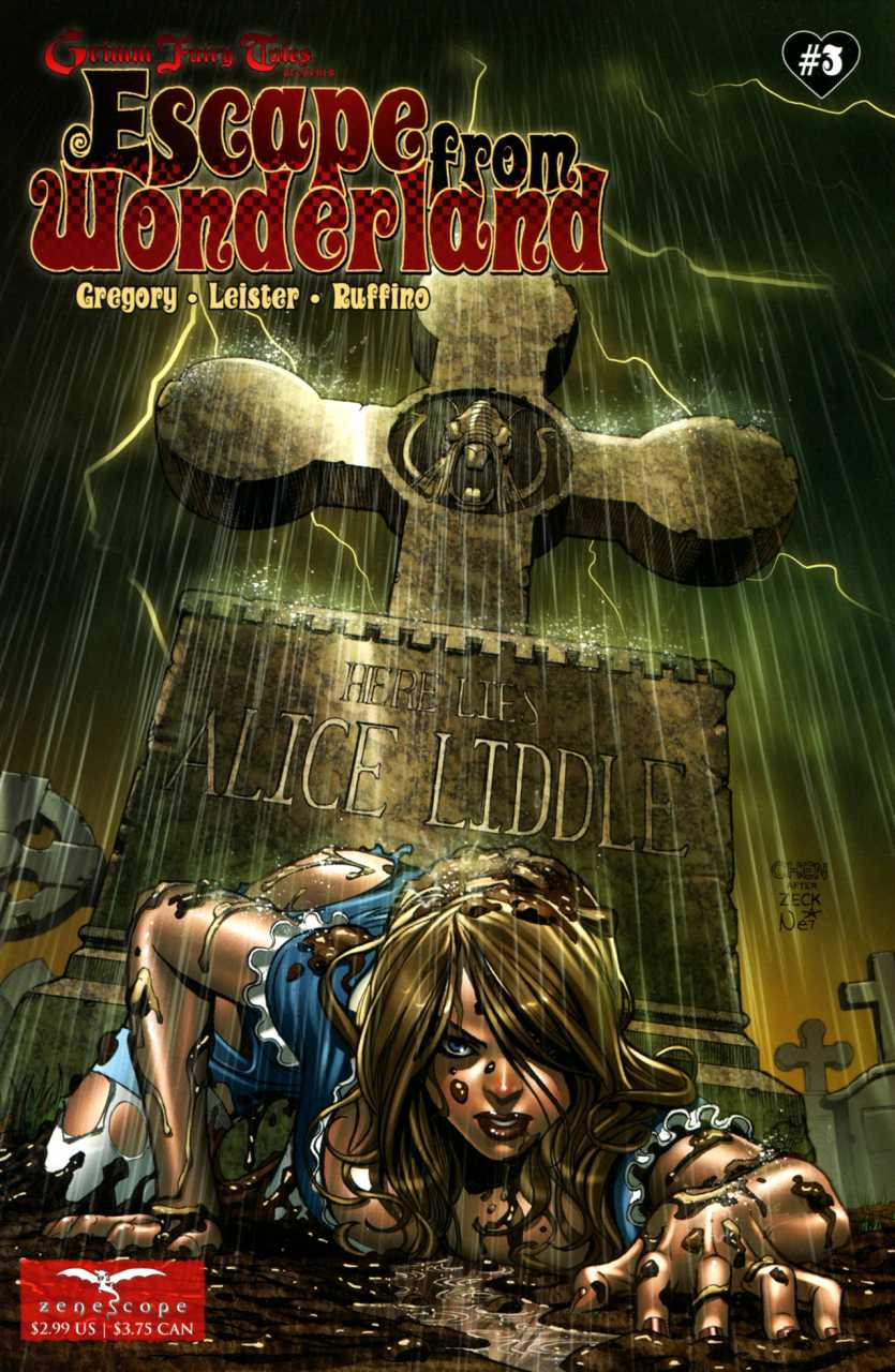 Grimm Fairy Tales Presents Escape from Wonderland #3