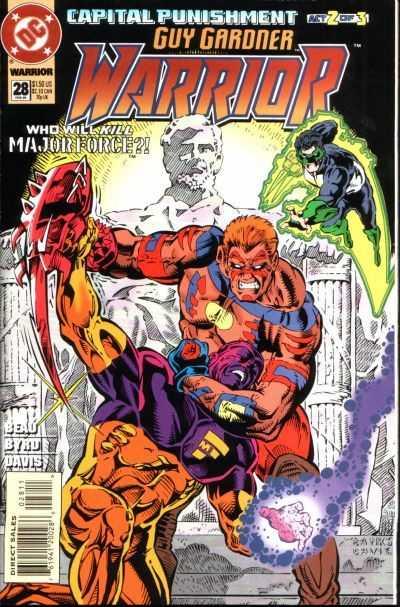 Guy Gardner: Warrior #28