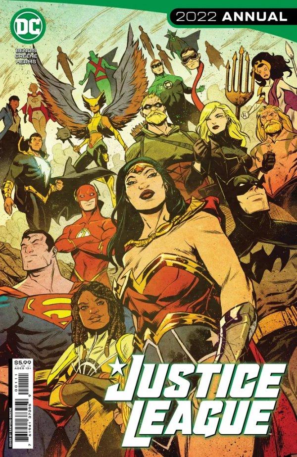 Justice League 2021 Annual #1