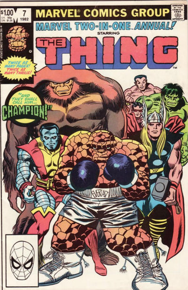 Marvel Two-in-One Annual #7