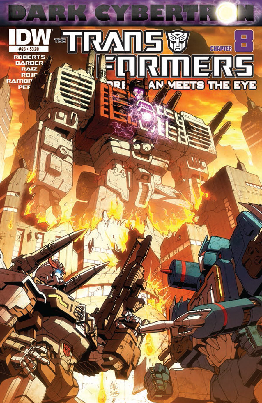 The Transformers: More than Meets the Eye #26