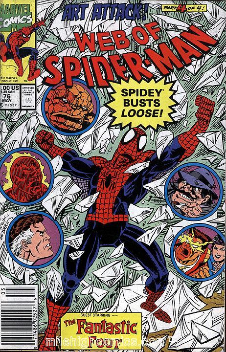 Web of Spider-Man #76
