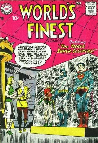 World's Finest Comics #91