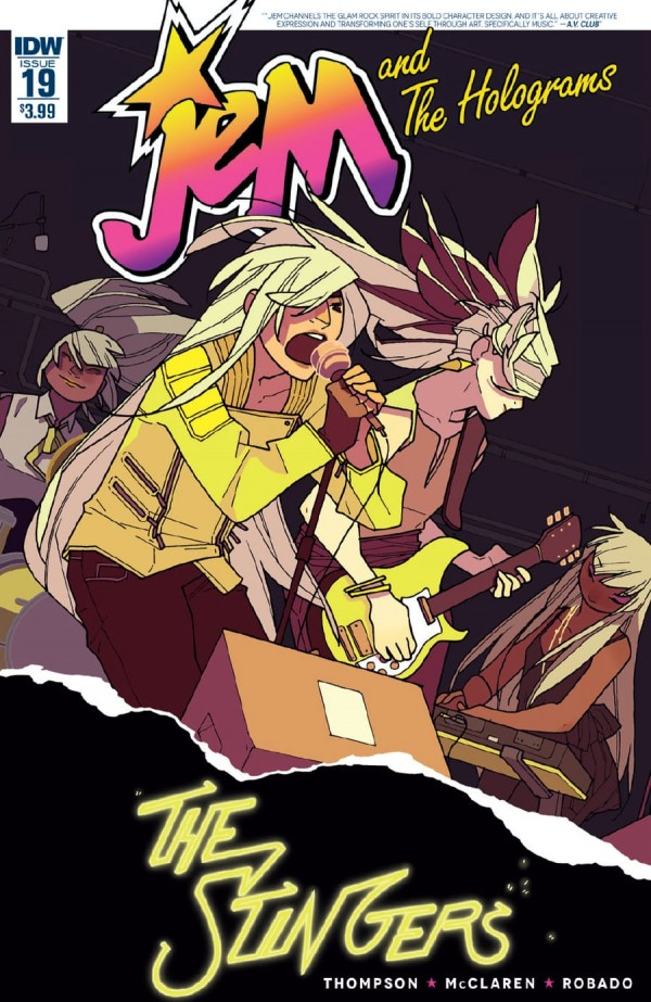 Jem and The Holograms #19