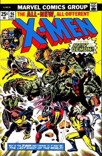 The X-Men #96