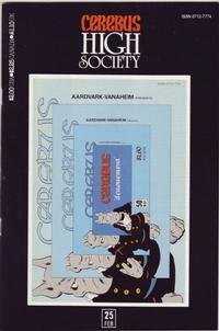 Cerebus High Society #25